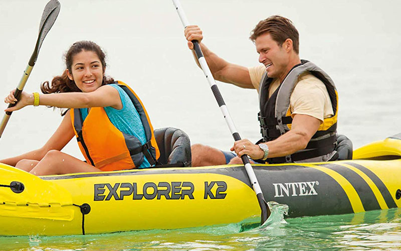 Test/Avis Canoë gonflable Intex Explorer K2-68307-3