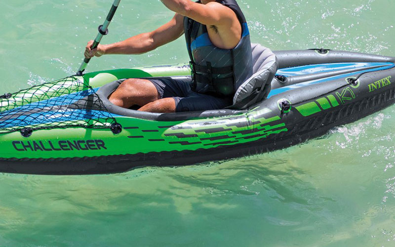Test/Avis Canoë kayak gonflable Intex K1-68305 Challenger-2